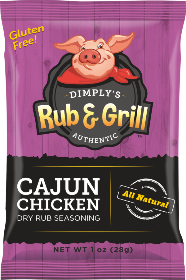 Cajun Chicken Dry Rub Seasoning
