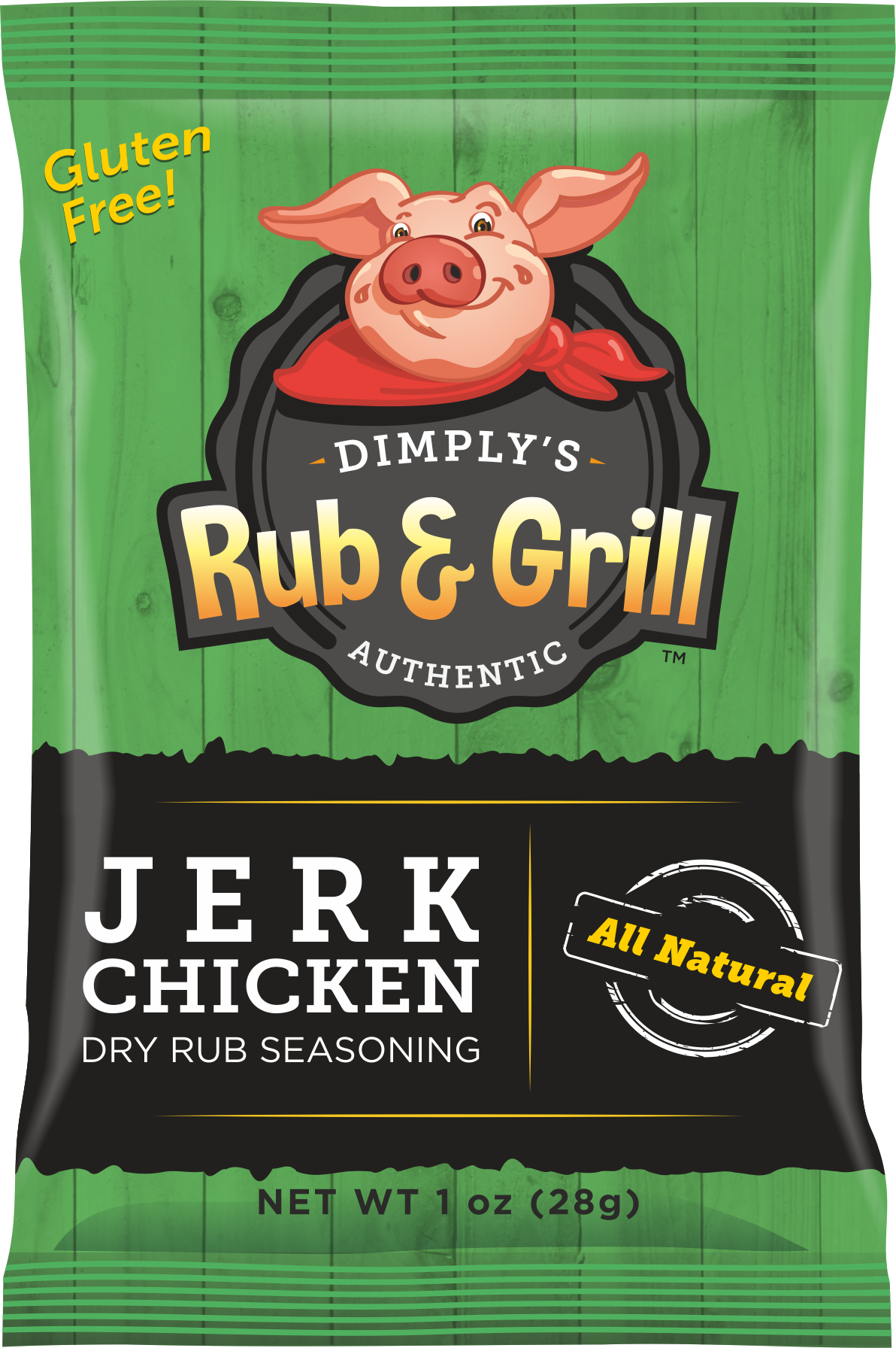 Jerk Chicken Dry Rub Seasoning