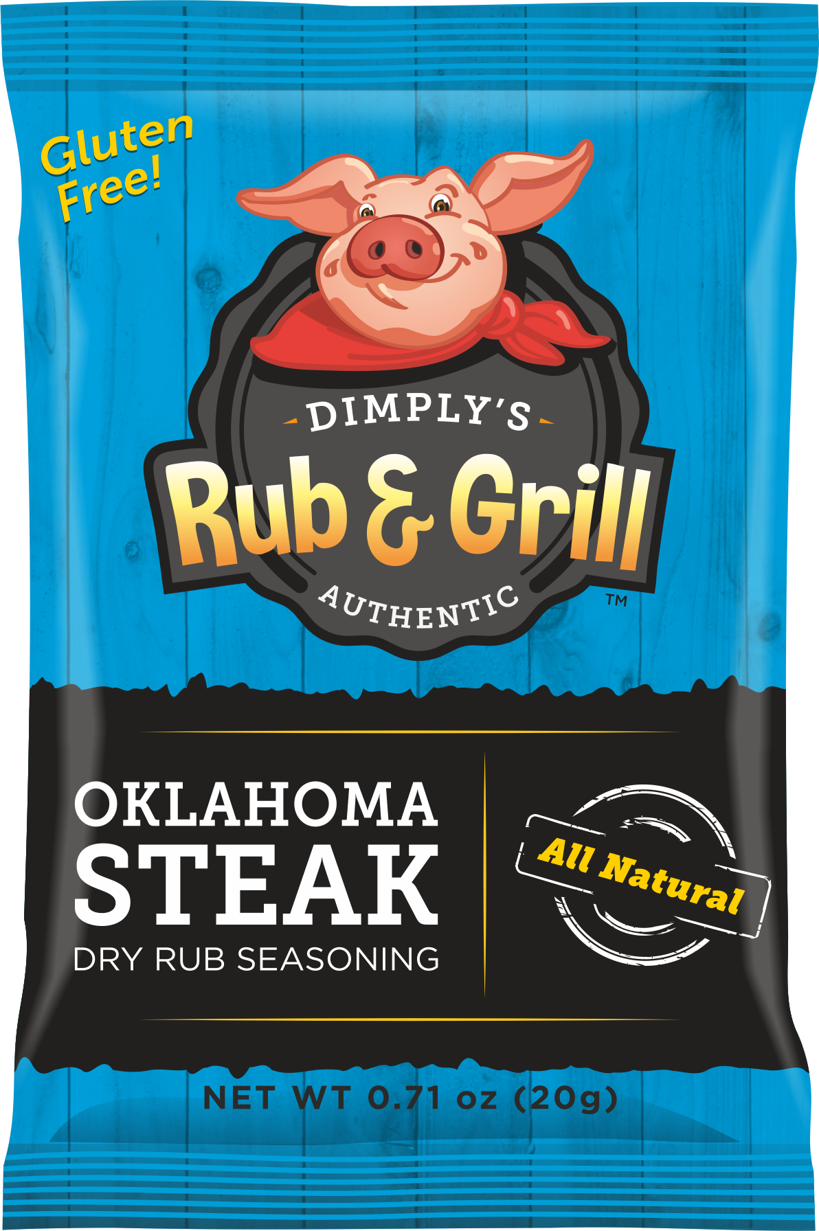 Oklahoma Steak Dry Rub Seasoning