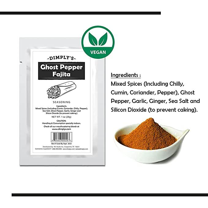 Ghost Pepper Fajita