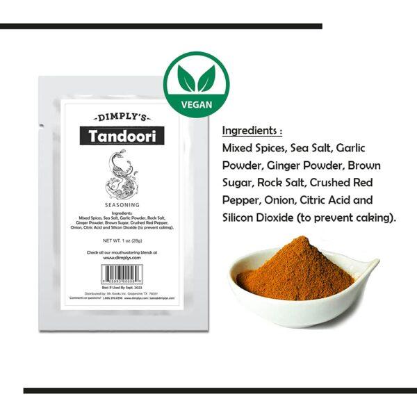 Dimply's Tour of India - Tandoori